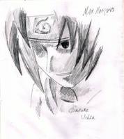 uchia sasuke sketch