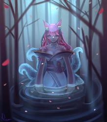 Spirit blossom Ahri League of Legends