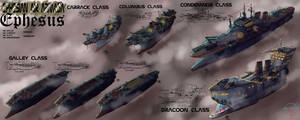 Ephesian fleet sheet by LordCarmi