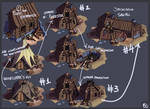 Woodcutter's Hut Sheet