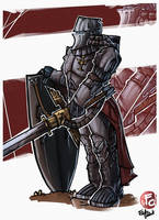 Crusader 40k by LordCarmi