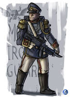 Mordian Soldier by LordCarmi