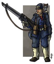 IG  Imperial Talons blue Jacket by LordCarmi