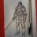 knight sketch