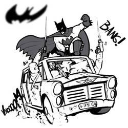 Bat Man by LordCarmi