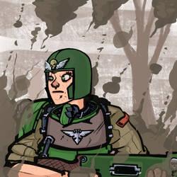 Brave Guard_helmet by LordCarmi