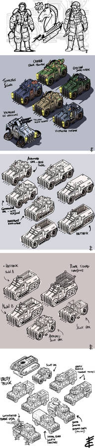 Imperial Guards concepts