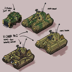 Ursarkar  Creed Mk I  Heavy Tank