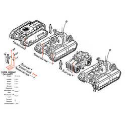 Ursarkar  Creed Mk I  Heavy Tank sizes by LordCarmi