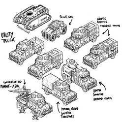 Trucks by LordCarmi