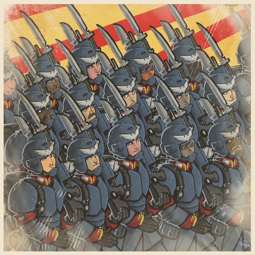 [W40K] Collection d'images : La Garde Impériale - Page 9 Poster_propaganda_by_lordcarmi_dd9ngj5-fullview.jpg?token=eyJ0eXAiOiJKV1QiLCJhbGciOiJIUzI1NiJ9.eyJzdWIiOiJ1cm46YXBwOiIsImlzcyI6InVybjphcHA6Iiwib2JqIjpbW3siaGVpZ2h0IjoiPD0xMDI0IiwicGF0aCI6IlwvZlwvYWFhY2I1ZTEtYjhjZC00YzkxLWFlYzktZTZmOWM5NWMwNzJlXC9kZDluZ2o1LTRlZjA4ZjZkLTVhOTQtNDBkMC05MmFiLWMwMDAwOWI2MzM5OC5wbmciLCJ3aWR0aCI6Ijw9MTAyNCJ9XV0sImF1ZCI6WyJ1cm46c2VydmljZTppbWFnZS5vcGVyYXRpb25zIl19