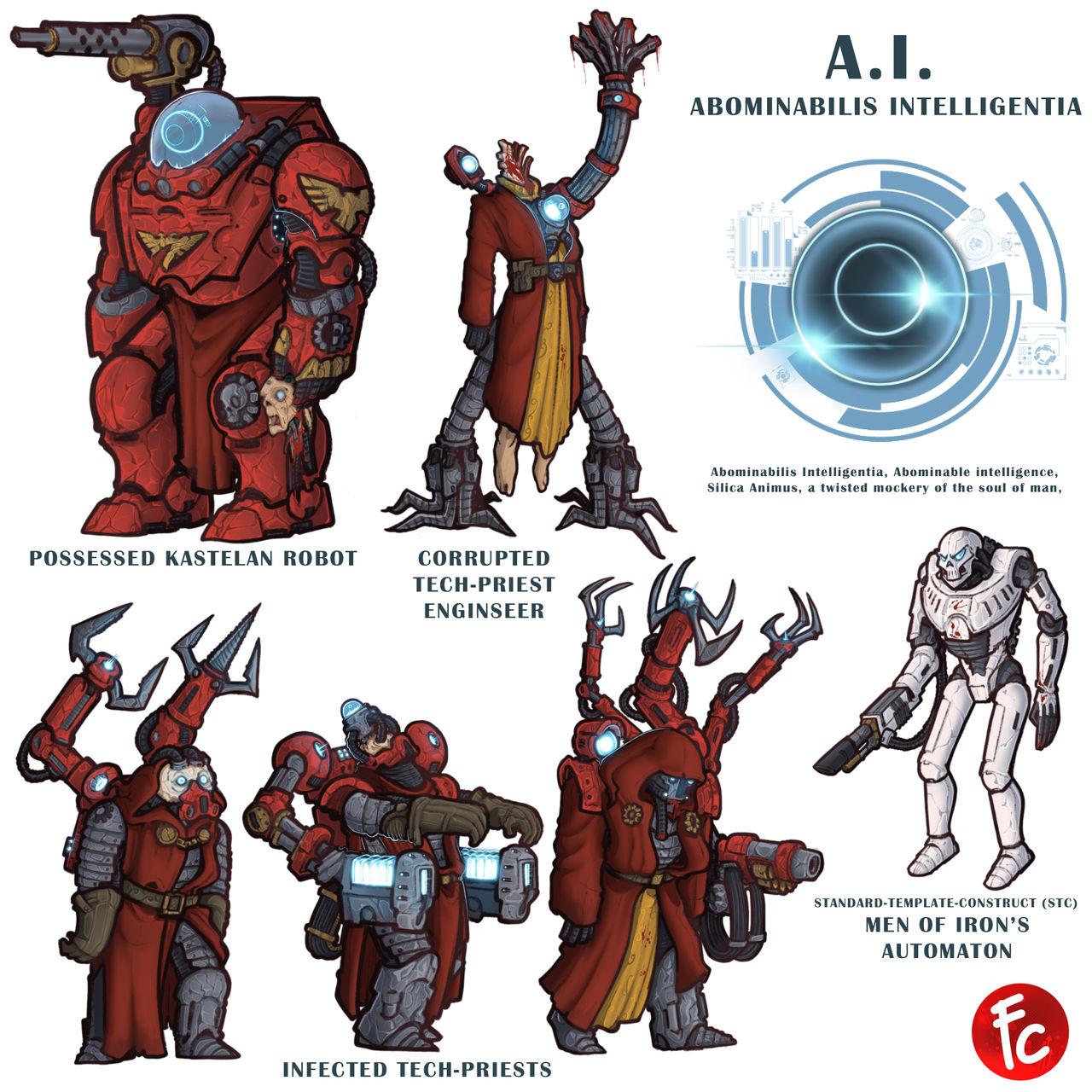 WH40K Abominable Intelligence
