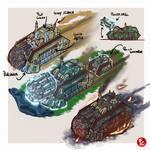 Dardanus Power Drill Tank