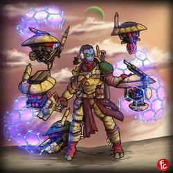 Tau Rogue Trader Mercenary