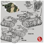 Leman russ battle tank redesign