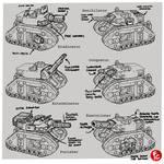 Leman russ battle tank redesign variants