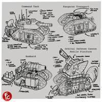 Leman russ battle tank redesign special versions