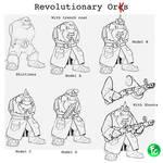 Revolutionary orks by LordCarmi