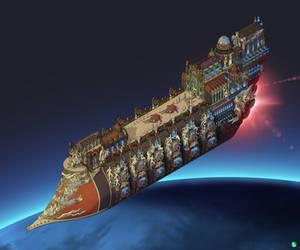 Rogue Trader Ship