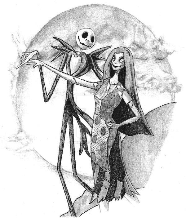 Jack And Sally By Anberlinboy On Deviantart