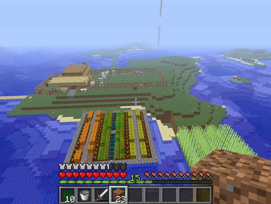 My Awesome Minecraft Farm Home By Garvandragon On Deviantart