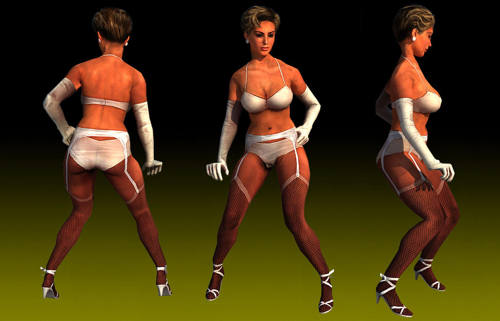 Mafia 2 : Stripper skin For San Andreas by Elpadrino1935