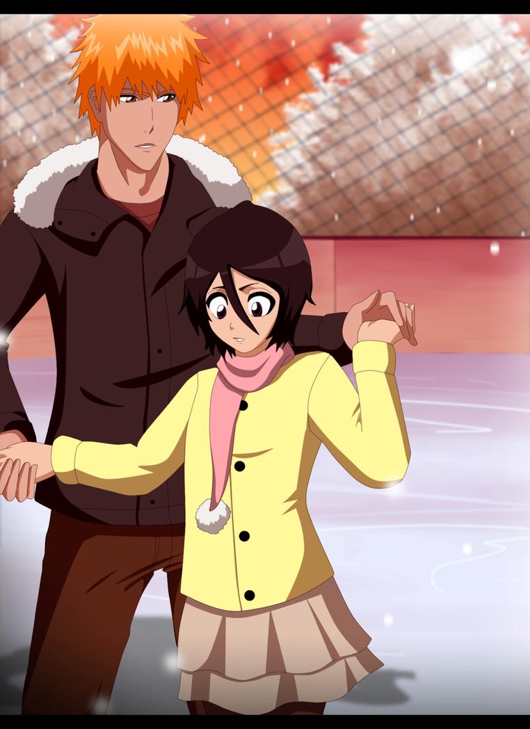 IchiRuki - Ice Skating by FlyingDragon04