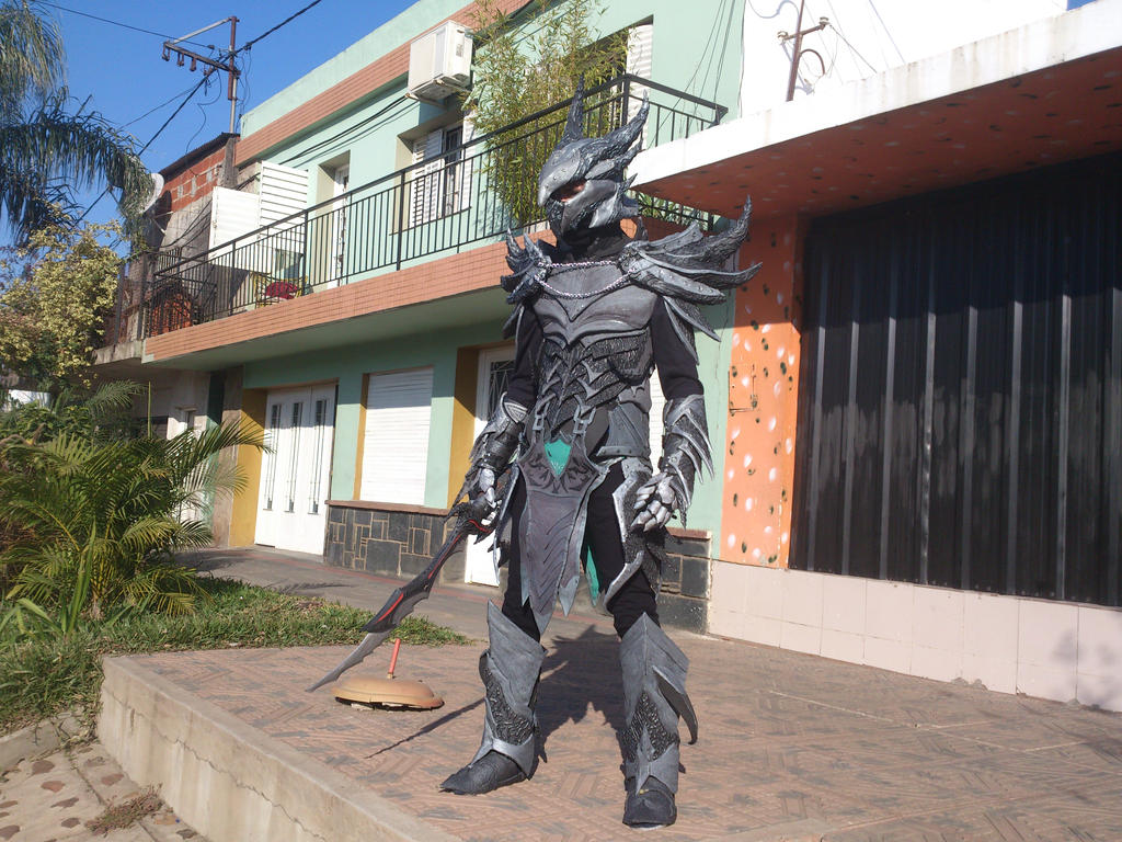 Daedric Armor 90% by scyther149