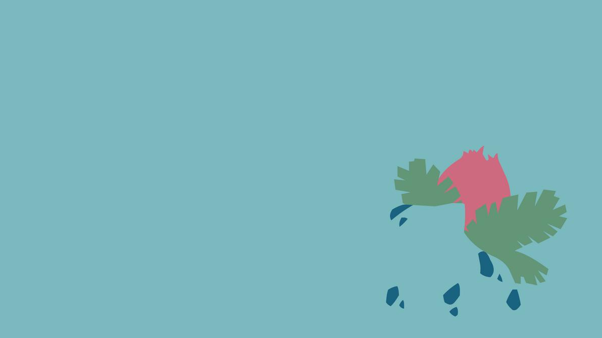 ¿Qué pokémon eres? Minimalist_ivysaur_wallpaper_by_mightygos-d8faaqm
