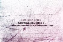 Grunge Brushes 1 www.Photoshop.cc by photoshopcc
