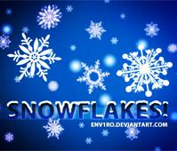 Snowflakes Photoshop.cc by photoshopcc