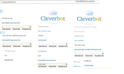 Never Touching Cleverbot Again. by KitCatKat13