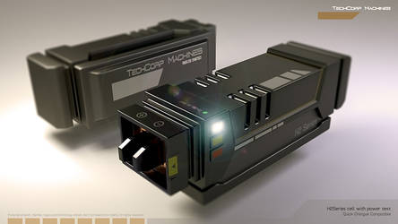 Scify power cell H2series Blender by ephebox