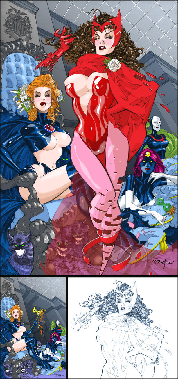Sisterhood of Evil Mutants by Franchesco