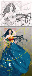 Princess Diana by Franchesco