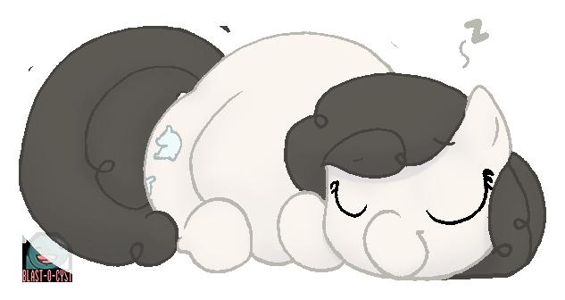 sleepin' snugglebug by Blastypone