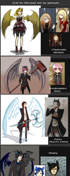 If my characters would be demons by Afinothka