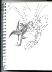 Red Eyes Black Dragon WIP by Virin-Otoyomi