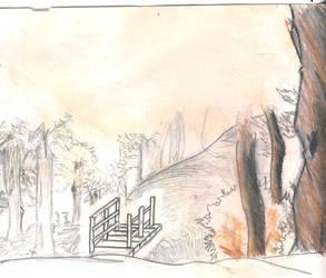 Bridge to Somewhere Colorful by Virin-Otoyomi