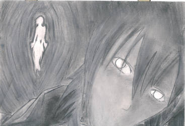 Old Charcoal Work by Virin-Otoyomi