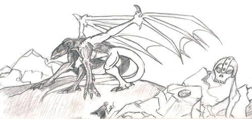 Western Dragon - Resolution 2 by Virin-Otoyomi