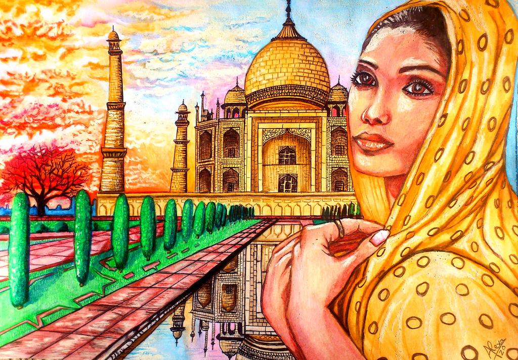 Beautiful India by AlexaT20