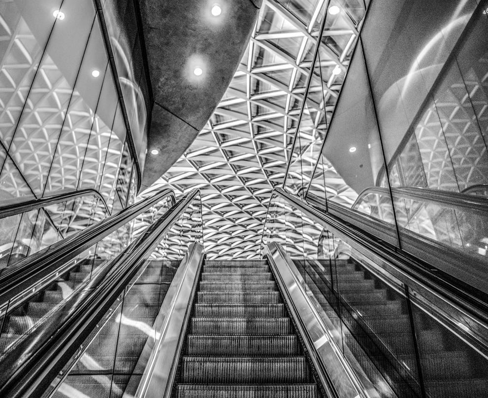 Escalator by deepgrounduk