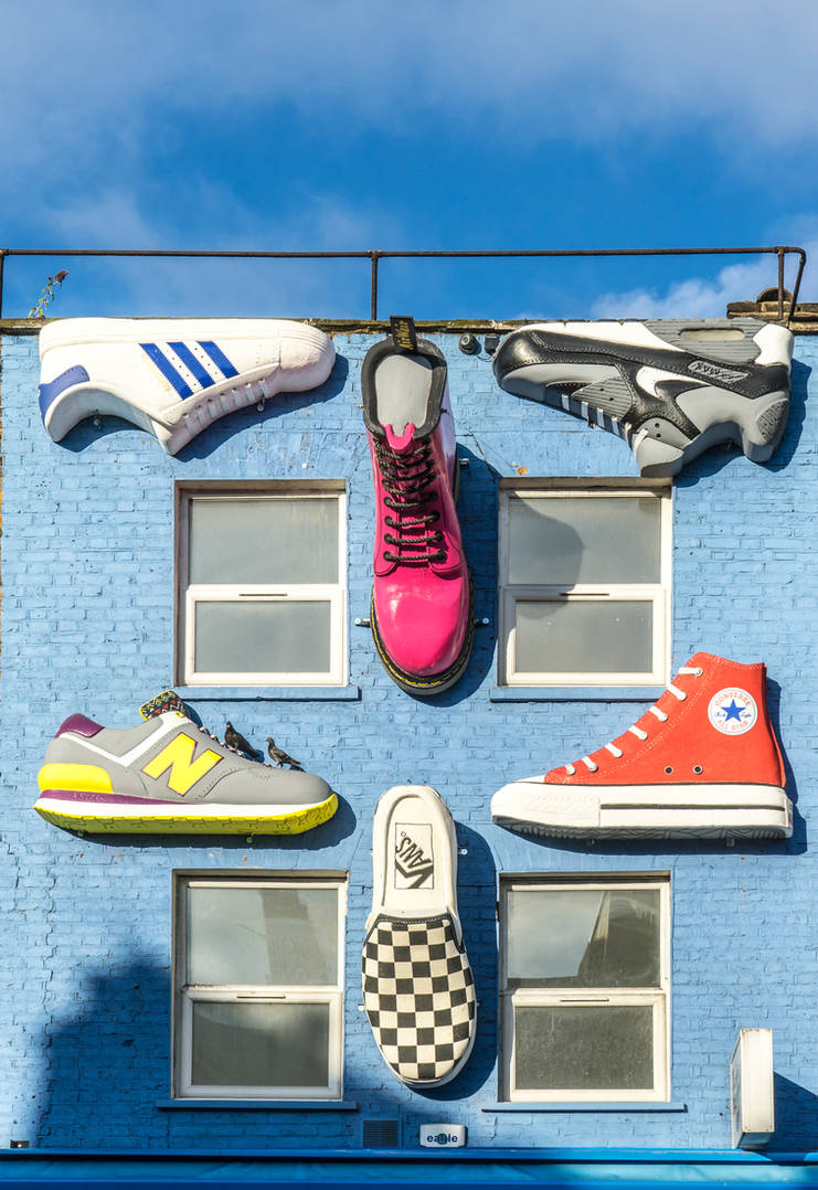 Cool Shoe Shop by deepgrounduk