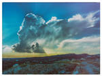 Clouds over Amathous, Cyprus by deepgrounduk