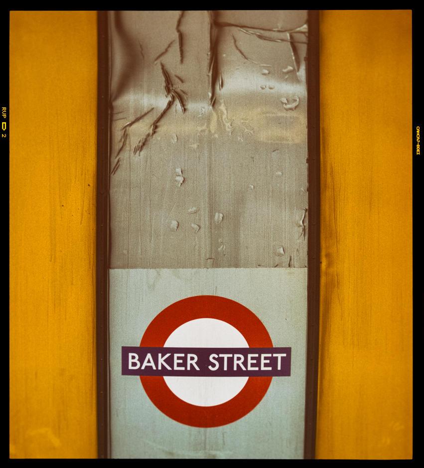 Baker Street station by deepgrounduk