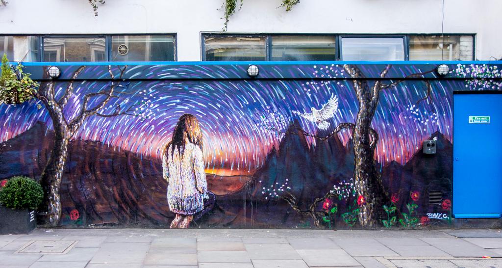 Street Art, Kings Cross, London by deepgrounduk