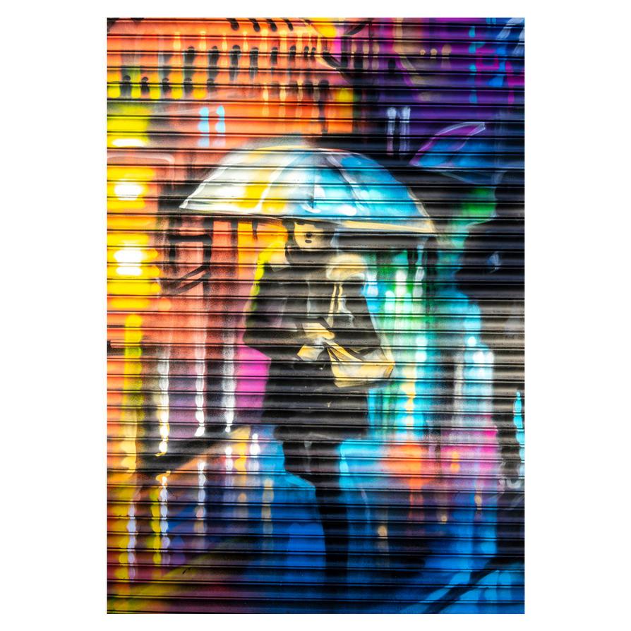 London rain... by deepgrounduk