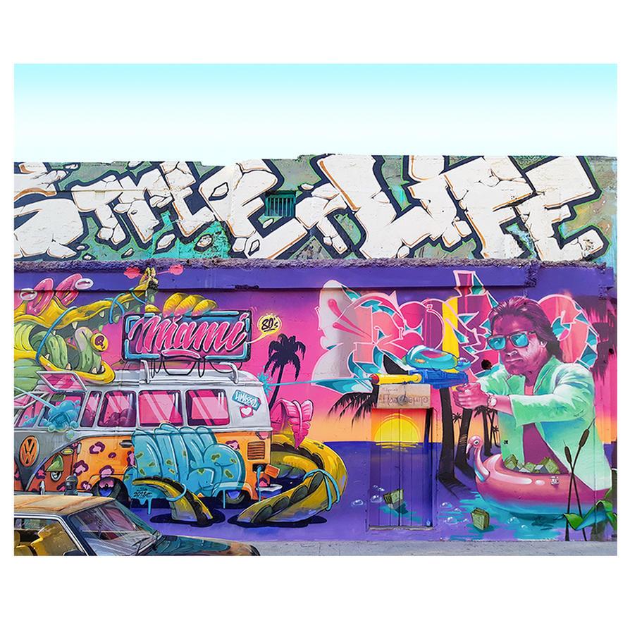 Miami Vice, Street Life by deepgrounduk