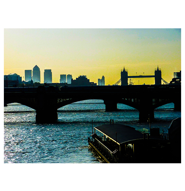 London skyline by deepgrounduk